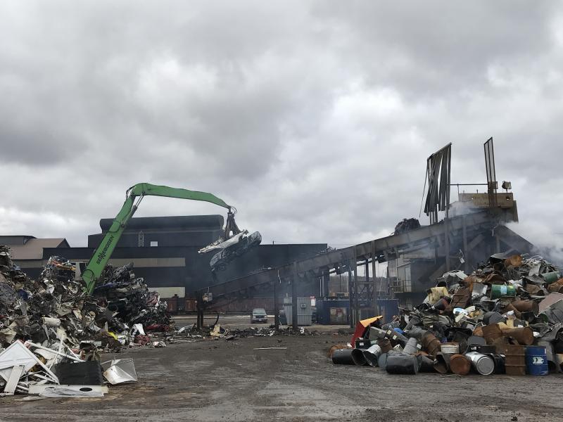 À quoi sert la ferraille recyclée?